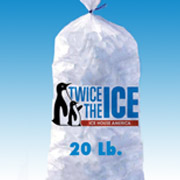 Tallahassee Ice 20 pound bag of ice